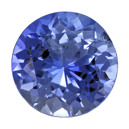 Stunning Blue Sapphire Gemstone, 0.54 carats, Round Shape, 4.9 mm, Truly Stunning