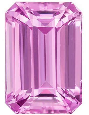 Super Great Buy on Octagon Cut Gorgeous Pink Sapphire Loose Gemstone, 3.05 carats, 9.2 x 6.3 mm , A Must Have Gem
