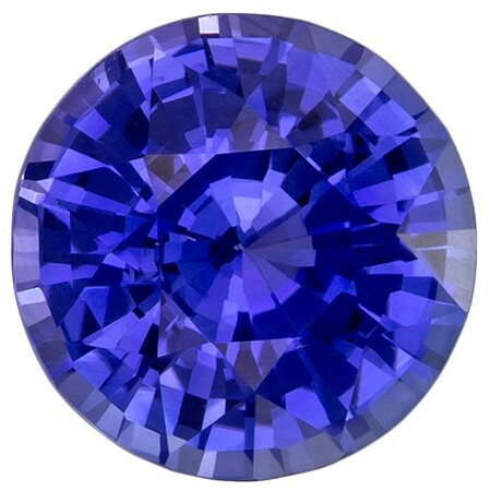 Unset Blue Sapphire Gemstone, Round Cut, 2.01 carats, 7.4 mm , AfricaGems Certified - An Extraordinary Gem