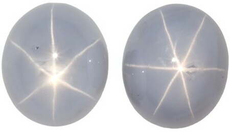 Unset Grey Sapphire Gemstones, Oval Cut, 7.22 carats, 8.5 x 7.3 mm Matching Pair, AfricaGems Certified - A Low Price