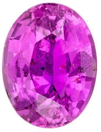Unset Pink Sapphire Gemstone, Oval Cut, 2.67 carats, 9.2 x 7 mm , AfricaGems Certified - A Magnificent Gem