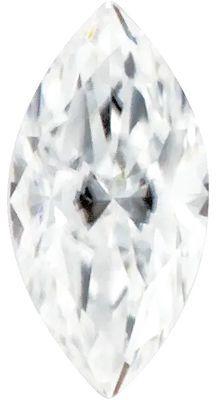 Value Grade Moissanite DEF Color Marquise