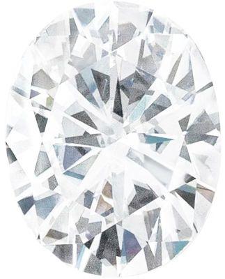 Value Grade Moissanite DEF Color Oval