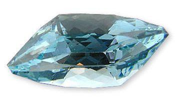 Very Fine Blue Designer Fancy Cut - USA Cutting Aquamarine Gemstone 11.59 carats at AfricaGems