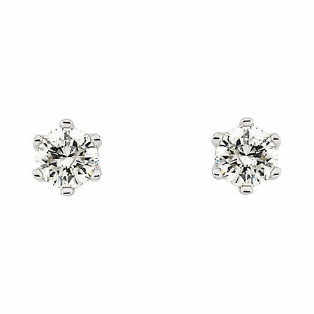 1/3 Carat Total Weight Diamond Friction Post Stud Earrings
