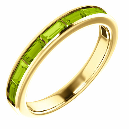 Great Deal in 14 Karat Yellow Gold Peridot Ring