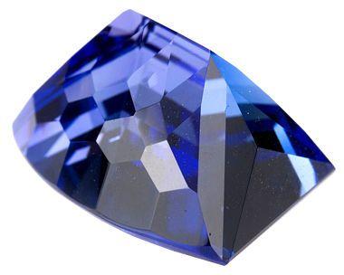 Amazing Cut Unique Tanzanite Gemstone 13.81 carats, Perfect for A Special Custom Piece