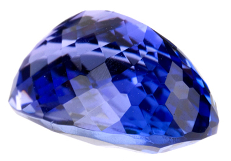 Dynamic Intense Color Oval Natural Tanzanite Gemstone 5.14 carats