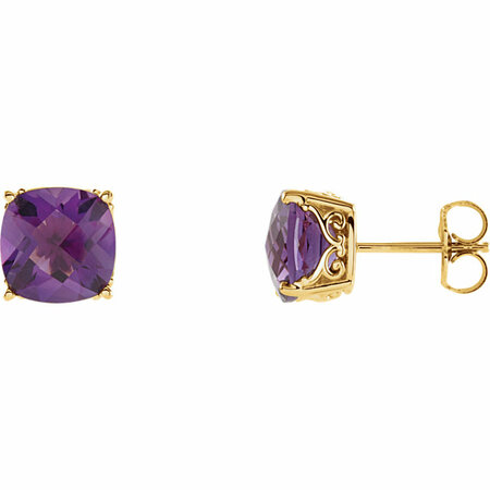 Gorgeous Genuine Amethyst Earrings