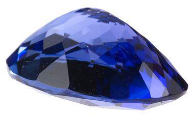 Magnificent Burma Blue OvalTanzanite Gemstone 6.71 carats