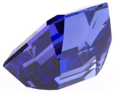 Uniquely Cut Elegant Color Natural Tanzanite Gemstone 6.00 carats