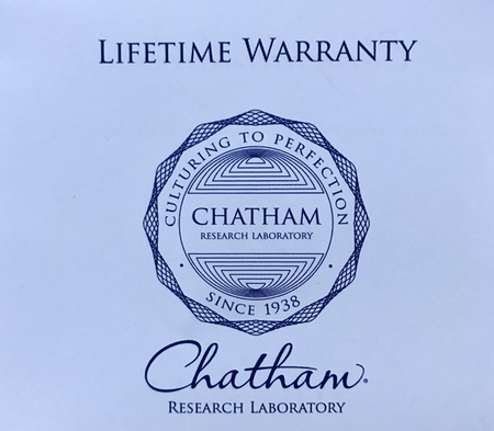 Chatham  Ruby Trillion Cut in Grade GEM