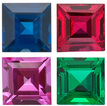SQUARE GEMSTONES