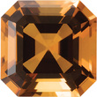 GOLDEN CITRINE  Asscher Cut - Calibrated