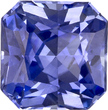 Deal on No Treatment GIA Certified Asscher Radiant Cut Blue Sapphire Loose Gem, Vivid Cornflower Blue, 5.5 x 5.5 mm, 0.99 carats