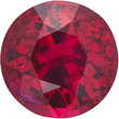 Grade AA - Round Genuine Ruby 2.25 mm to 7.00 mm