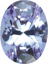 PURPLE CUBIC ZIRCONIA Oval Cut Gems - Calibrated