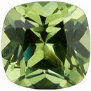 Imitation Peridot Antique Square Cut  Gems