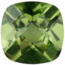 Imitation Peridot Antique Square Cut Checkerboard Gems