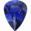 Bargain Priced Sapphire Loose Gem in Pear Cut, Vibrant Violet Blue, 9.07 x 6.92  mm, 1.78 Carats