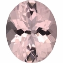 Special Buy On Morganite Loose Gem in Oval Cut, Light Purple Pink, 11.05 x 9.00 mm, 3.2 Carats