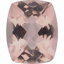 Gorgeous Morganite Loose Gem in antique cushion Cut, Light Purple Red, 10.99 x 8.90 mm, 3.29 Carats
