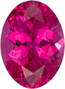 Neon Red Hot Pink Spinel from Tanzania Mahenge Stone Oval Cut, 6.6 x 4.9 mm, 0.78 Carats