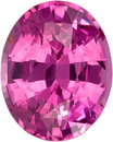 Vibrant Pink Spinel Ceylon Natural Gemstone in Oval Cut, 8.9 x 7.2 mm, 2.22 Carats