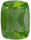 Imitation Peridot antique cushion Cut  Gems