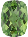 Imitation Peridot antique cushion Cut Checkerboard Gems