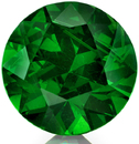 Awesome Russian Demantoid Garnet Loose Gem in Round Cut, 6.65 x 4.29 mm, 1.33 carats with GIA Certificate