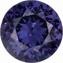 Unusual and Attractive, Rich Steely Violet Sri Lankan Spinel in Round Cut, 1.51 carats