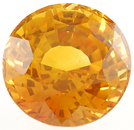 Wow!  This Is A Special Golden Sapphire Gemstone 10.28 carats, Round Cut
