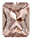 Nice Cut and Size, Lovely Morganite Genuine Gem for SALE, Radiant Cut, 17.9 x 14 mm, 18.06 carats