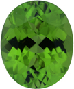 Low Price on Loose Peridot Gem in Oval Cut, Vibrant Yellowish Green, 10.97 x 9.02 mm, 3.94 carats