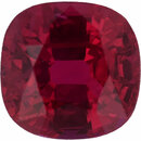 Great Deal on Loose Ruby Gem in Antique Square Cut, Red Color, 5.67 x 5.59 mm, 1.09 carats