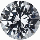 Top Quality Round Cut Loose White Sapphire Gem, Near Colorless Very Slight Hint Of Blue, 6.92 mm, 1.48 carats
