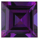 Grade GEM CHATHAM CREATED ALEXANDRITE Square Step Cut Gems  - Calibrated