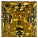 YELLOW CUBIC ZIRCONIA Princess Cut Gems - Calibrated