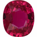 Special Buy On  No Heat Ruby Loose Gem in Antique Cushion Cut, Vibrant Purple Red, 7.43 x 6.33  mm, 1.58 Carats