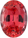 Grade GEM CHATHAM CREATED PADPARADSCHA SAPPHIRE Oval Cut Gems  - Calibrated