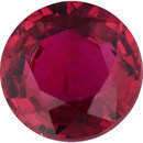 Low Price On Ruby Loose Gem in Round Cut, Vibrant Purple Red, 5.51 mm, 0.84 Carats