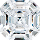Forever One Colorless  Asscher