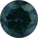 Attractive Alexandrite Loose Gem in Round Cut, Vibrant Blue Green to Vibrant Purple Pink, 6.03 mm, 0.99 Carats