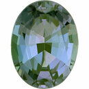 Very Fine Alexandrite Loose Gem in Oval Cut, Vibrant Blue Green to Light Pink Purple, 6.93 x 5.21  mm, 0.9 Carats