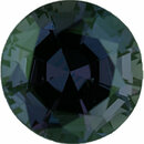 Superb Alexandrite Loose Gem in Round Cut, Medium Green Blue to Vivid Pink Purple, 5.95 mm, 1 Carats