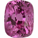 Excellent  No Heat Sapphire Loose Gem in Antique Cushion Cut, Light Purple Pink, 8.27 x 6.45  mm, 2.47 Carats