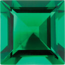 Imitation Emerald Square Cut Gems