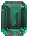 Imitation Emerald Emerald Cut Gems