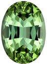 Beautiful Mint Green Color Tourmaline Gemstone in Oval Cut, Rich Color, 9.9 x 7 mm 2.62 carats